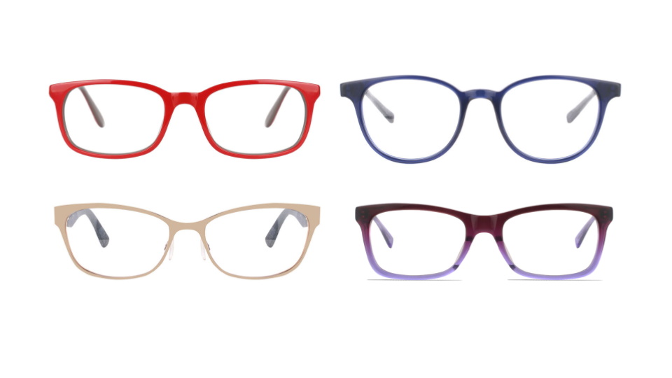 color prescription glasses
