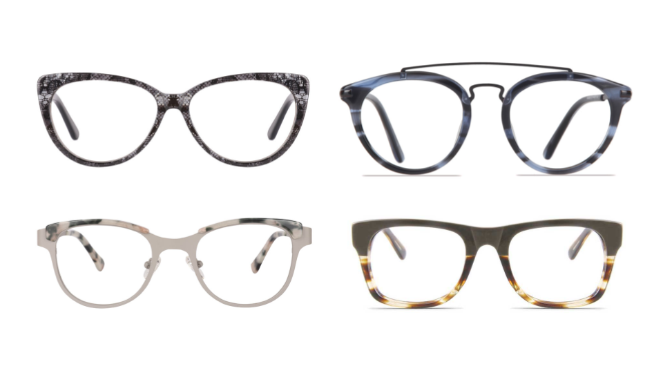 designer prescription glasses