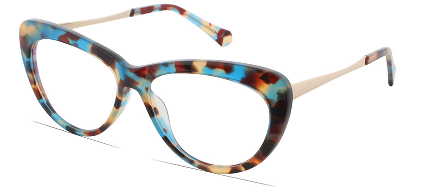 Glasses Frames You Can Try On At Home : Rosvin Bugs 1075 C3 - square frames - Prescription Glasses