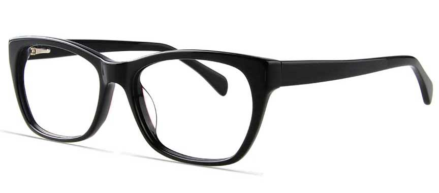 Glasses Frames You Can Try On At Home : Weldon 020 BLK - women - Prescription Glasses